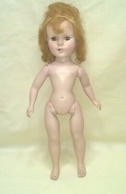 Vintage American Character Sweet Sue Doll Slw Tlc For Parts $9.99