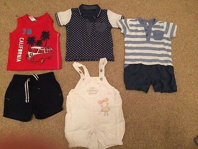 Baby Boys Summer Clothes 6-9 Months
