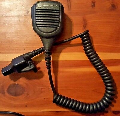 OEM Motorola PMMN4045A Noise Cancelling Speaker Microphone For XTS 5000, 2500