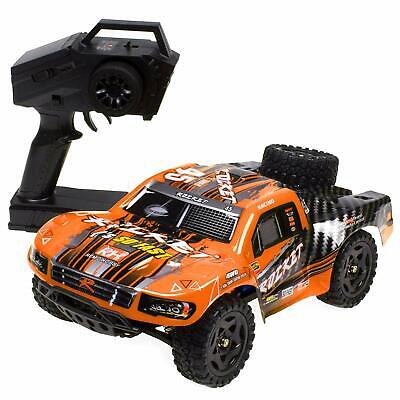 REMO 1/16 RC Truck 4WD High Speed Off-road Car 2.4Ghz Short Course Truck Orange