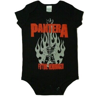 Pantera Future Headbanger Baby One Piece Bodysuit Infant Romper 0-24 Official