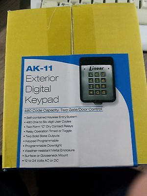 Linear AK-11 Exterior Digital Keypad