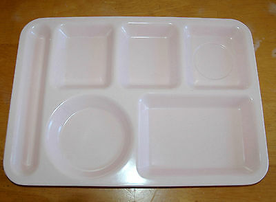 Melamine Home Dinner Wear Serving Lunch Tray PINK