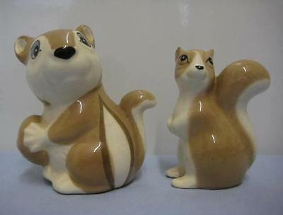 Vintage Szeiler Chipmonk And Squirrel Figurines