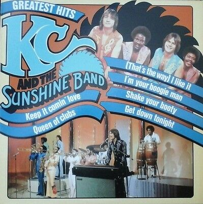 KC AND THE SUNSHINE BAND - GREATEST HITS VINYL LP DISCO 1970s BR MUSIC NM/NM