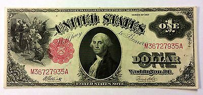 1917 $1 One Dollar United States Note Sharp Beauty Nice FREE SHIPPING