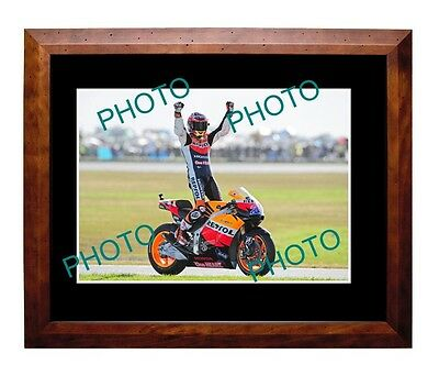 Casey Stoner Australian Moto Gp Legend Large A3 Photo, Honda