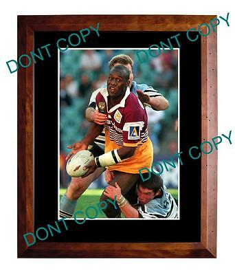 Wendell Sailor Brisbane Broncos Rugby Champion Large A3 Photo
