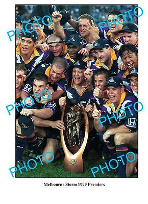 Melbourne Storm 1999 Premiership Team Large A3 Photo