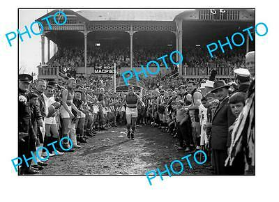 Footscray Fc Legend Ted Whitten Large A3 Photo 3