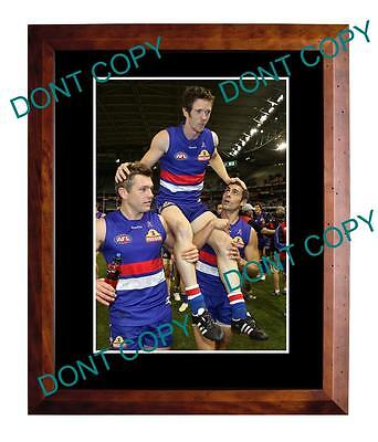 Robert Murphy Western Bulldogs 200 Games Large A3 Photo