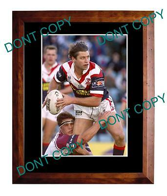 Luke Ricketson Sydney Roosters Rugby Champion Large A3 Photo