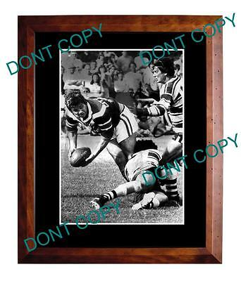 Arthur Beetson Sydney Roosters Rugby Champion Large A3 Photo