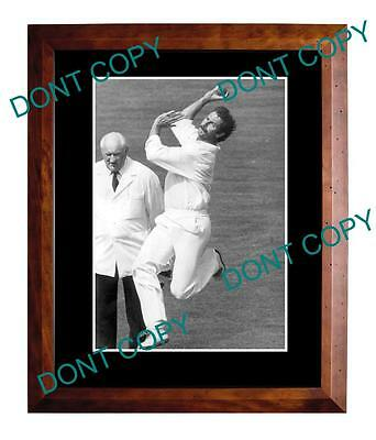 Dennis Lille Australian Cricket Legend Large A3 Photo