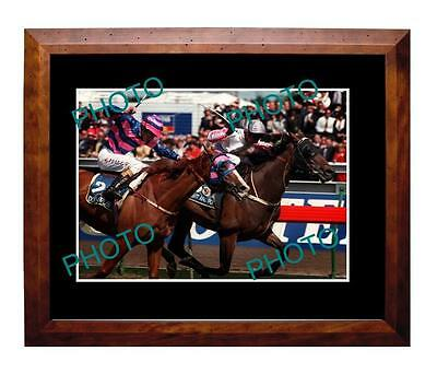Might & Power 1997 Melbourne Cup Win Large A3 Photo