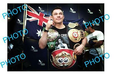Kostya Tszyu Australian Boxing Legend A3 Photo 1