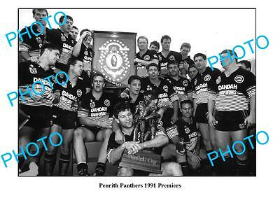 Penrith Panthers 1991 Premiership Team Large A3 Photo