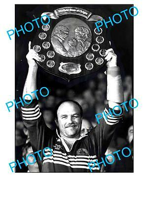 Wally Lewis Qld Rugby Legend Large A3 Photo, Origin 1