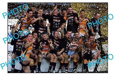 Wests Tigers 2005 Nrl Premiership Winning Team Large A3 Photo