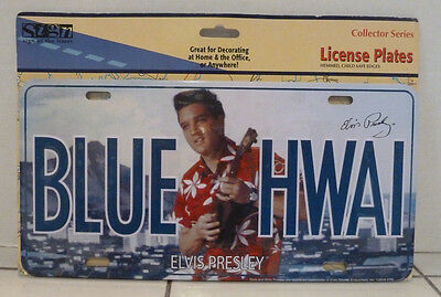 Elvis Presley Blue Hawaii Decorative License Plate  New