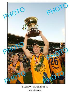 Eagles 2006 Sanfl Premiership Large A3 Photo, Pasador