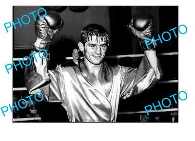 Aust Boxing Champion Johnny Famechon Large A3 Photo