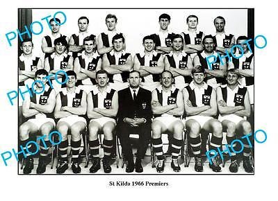 St KILDA 1966 PREMIERSHIP TEAM LARGE A3 PHOTO