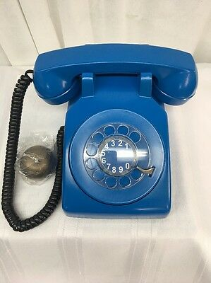 VTG WESTERN ELECTRIC ROTARY DIAL PHONE Royal Blue