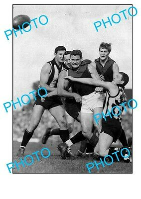 RON BARASSI MELBOURNE FC LEGEND 1950s LARGE A3 PHOTO