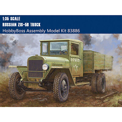 HobbyBoss 83886 1/35 Scale Russian ZIS-5B Military Truck Plastic Assembly Models
