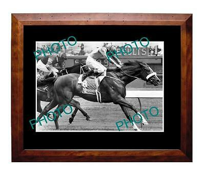 Kingston Rule 1990 Melbourne Cup Win Large A3 Photo