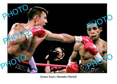 Kostya Tszyu Australian Boxing Legend A3 Photo 2