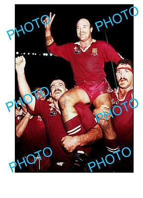 Wally Lewis Qld Rugby Legend Large A3 Photo, Origin 2