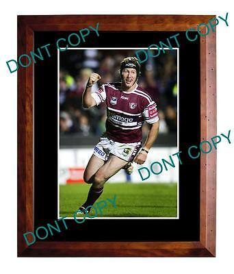 Steve Menzies Manly Sea Eagles Rugby Champion Large A3 Photo