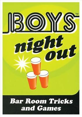 New Adult toys Boys Night Out Card Game