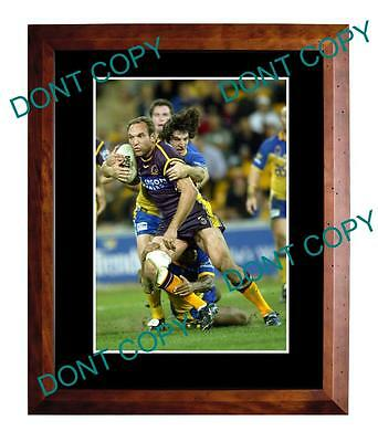 Gorden Tallis Brisbane Broncos Rugby Champion Large A3 Photo 2