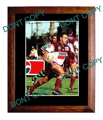 Cliff Lyons Manly Sea Eagles Rugby Champion Large A3 Photo