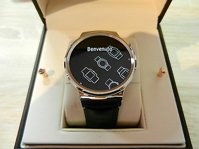 Huawei Watch Classic mit Lederband in silber (classic sg)