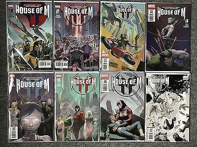 House of M #1-8 Complete Set (Issue #8 Variant)