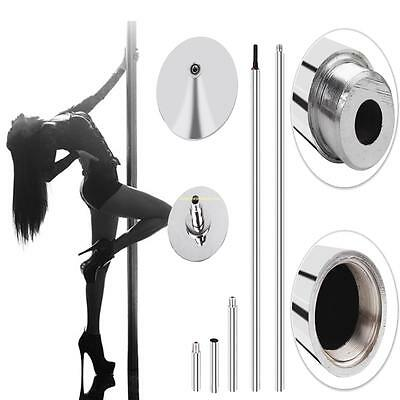 45mm Fitness Ejercicio Spinning Static Dance Pole Stripper Franja Portable