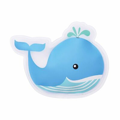 COOL IT BLUE WHALE - Kids Cold or Hot Pack Bump Bruises Injury Soother Reusable!