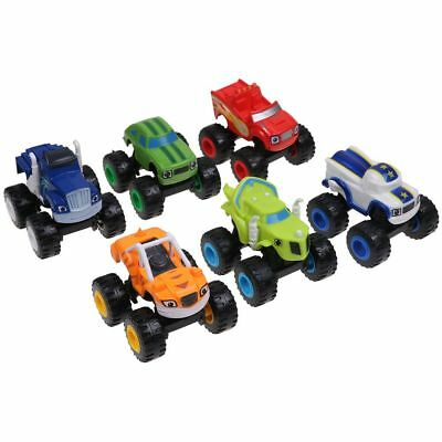6Pcs Blaze and the Monster Machines Vehicles Toys Racer Cars Trucks Kid