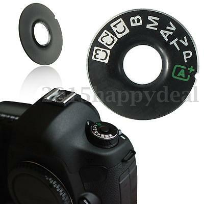 For Canon EOS 5D Mark III 5D3 Part Dial Mode Interface Cap Replacement Black New