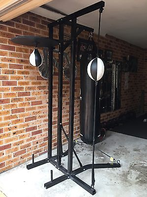 3 Way Boxing Stand. Advanced Fight Gear