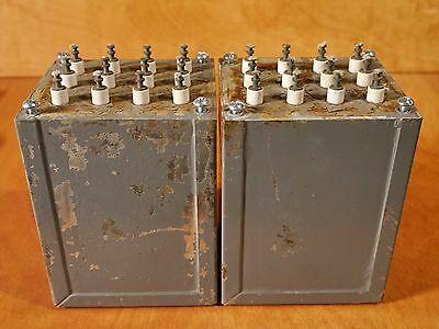 Adc-10  Power Transformer Pair, 600Vct, 6.3Vct, Tube Amplifier, Nos!