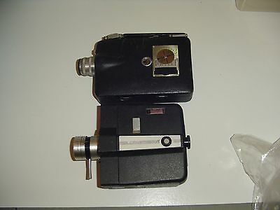 2 vintage movie  Cameras   Bell & Howell with Autoload + Cine-Kodak 16mm