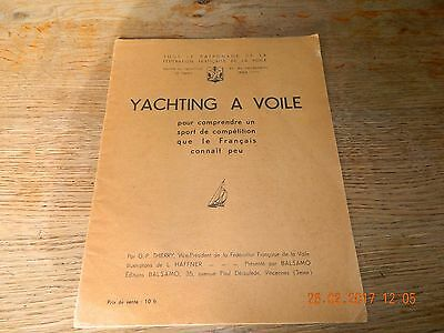 Yachting A Voile