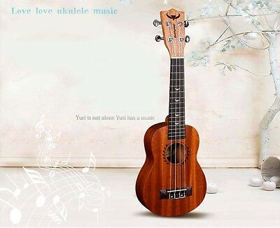 21 inches Wood Color Mahogany Beginners Preferred Musical Instrument Ukulele