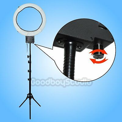 [AU] 65W 5400K Dimmable Ring Light w/ Diffuser Sock + 185cm Light Stand