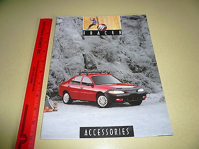 Mercury Tracer Accessories Sales Brochure